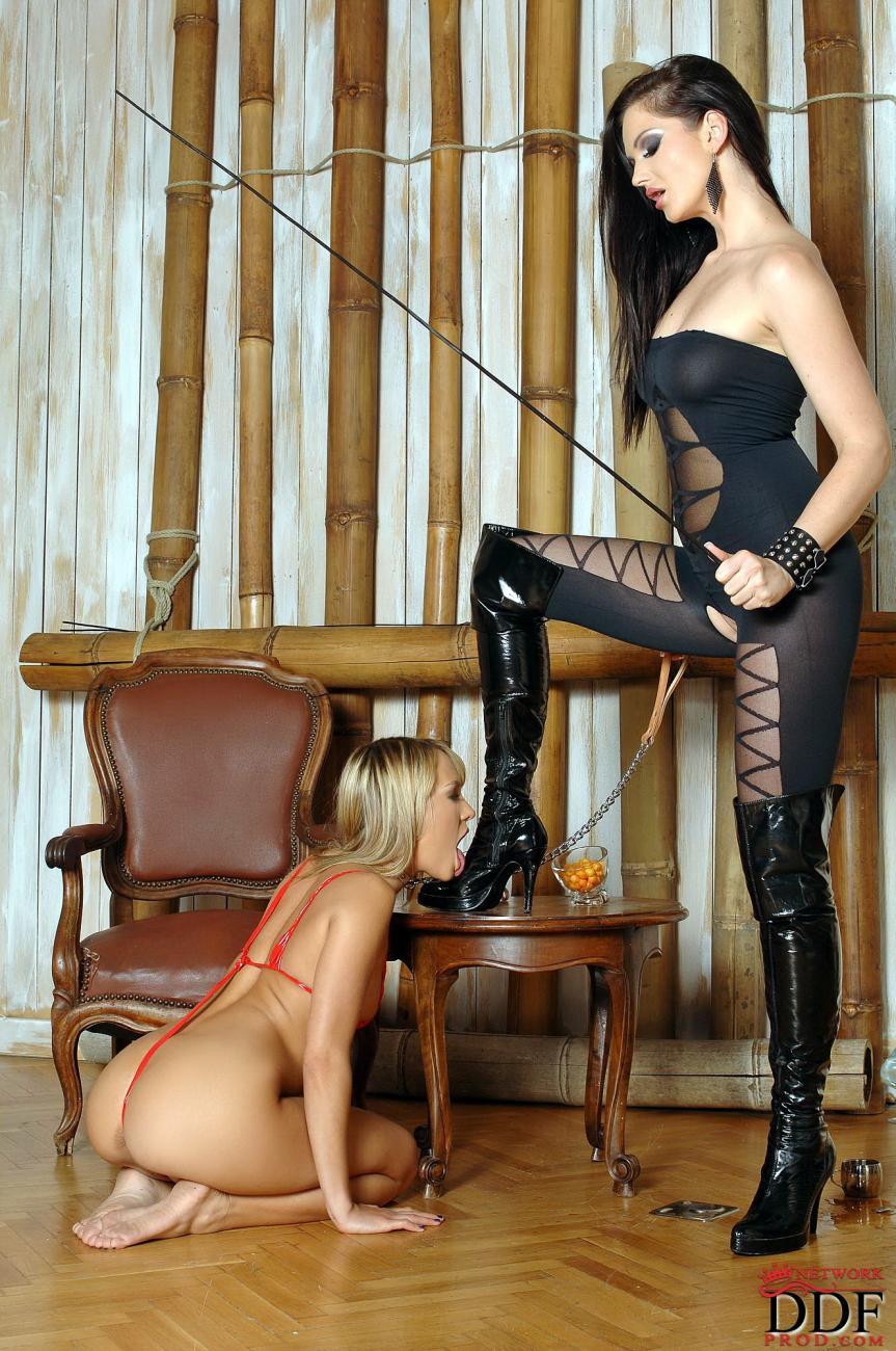 Рабыня вылизывает госпожу 26 фотография
