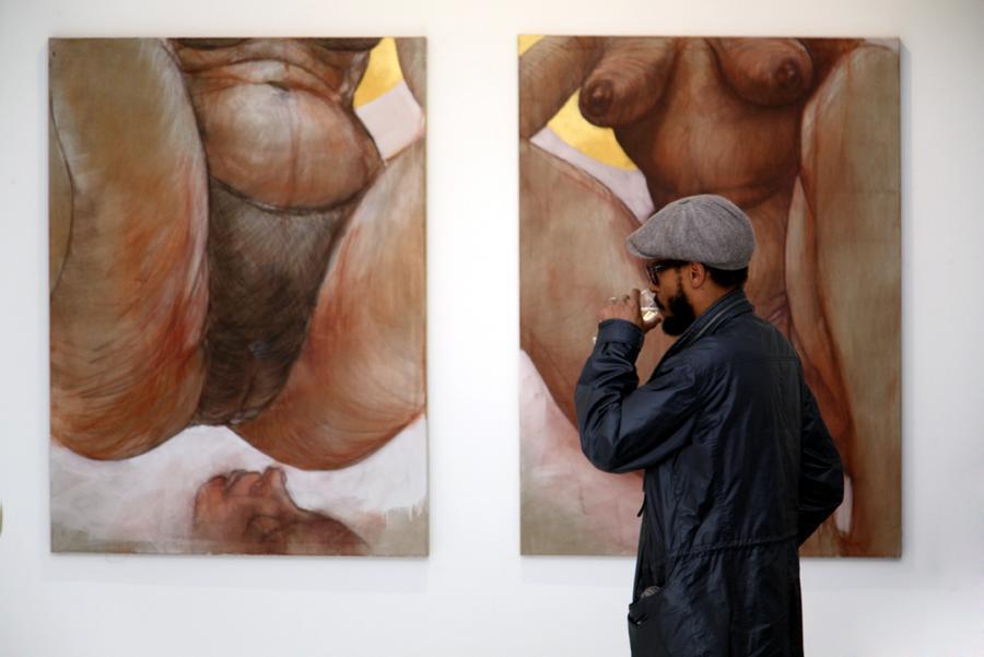 Женские гениталии в живописи