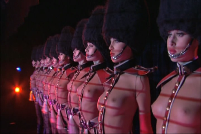Французский кабаре порно